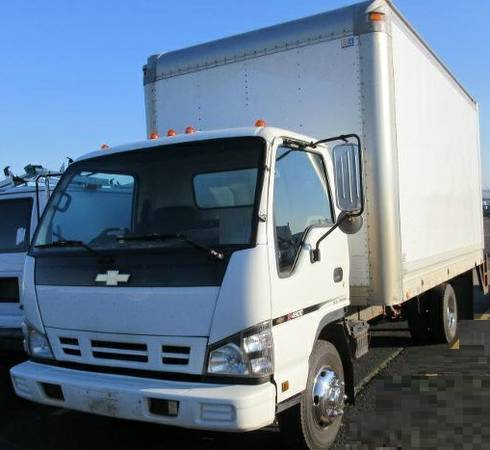 2006 chevrolet w4500 isuzu box truck diesel for sale. Black Bedroom Furniture Sets. Home Design Ideas