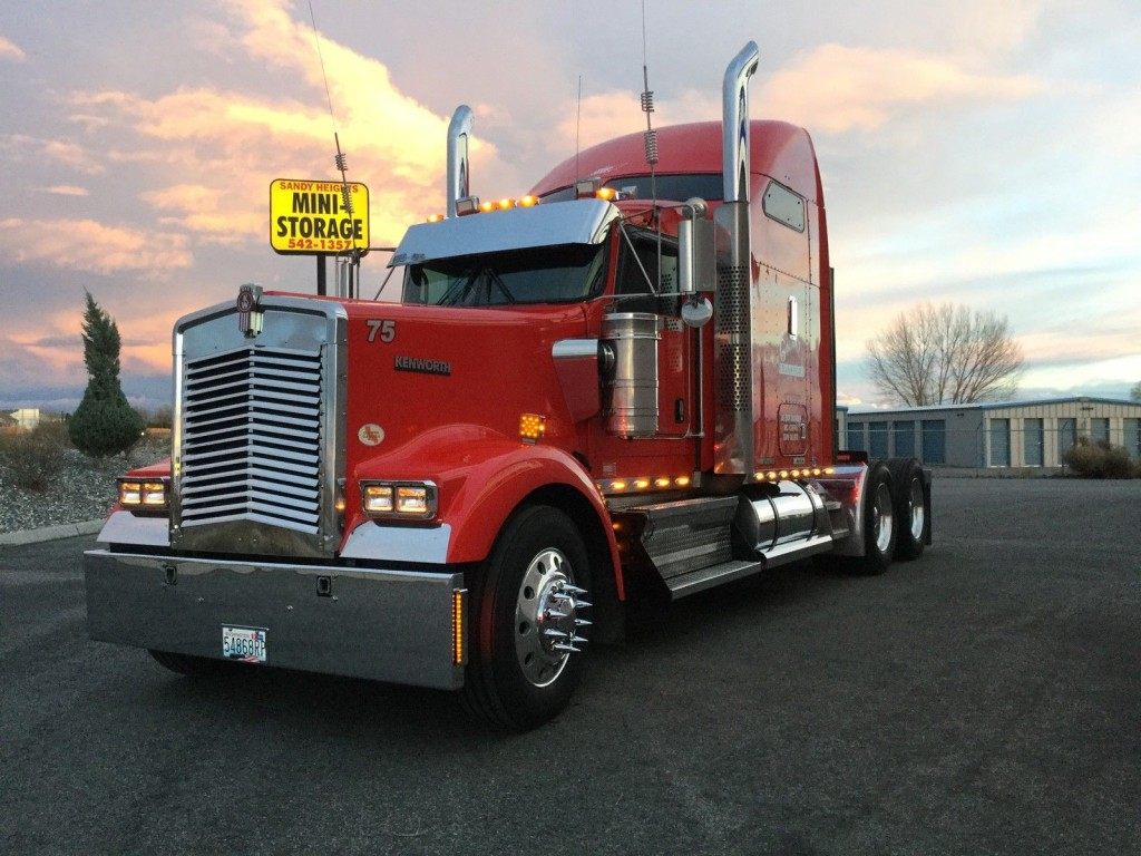 What Is My Truck Worth >> 2009 Kenworth W900L for sale