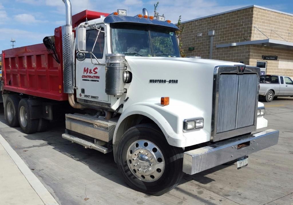 2009 Western Star 4900fa Dump Truck For Sale