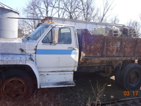 1984 Ford F 601 3 Ton Dump Truck for sale