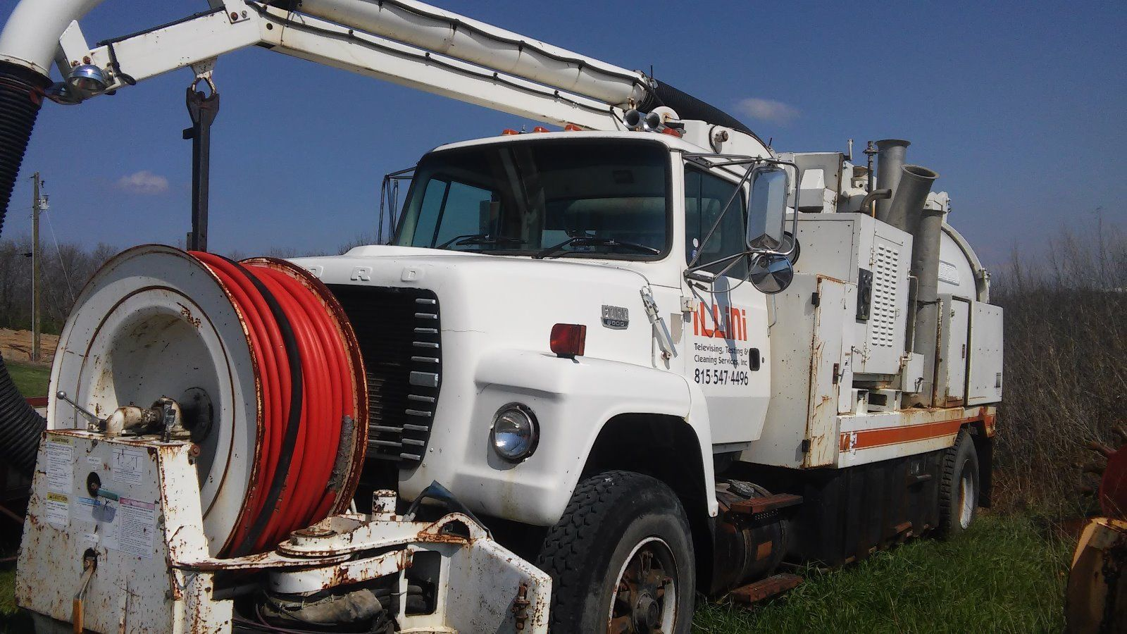 1995 Ford L8000 Vacuum Truck for sale