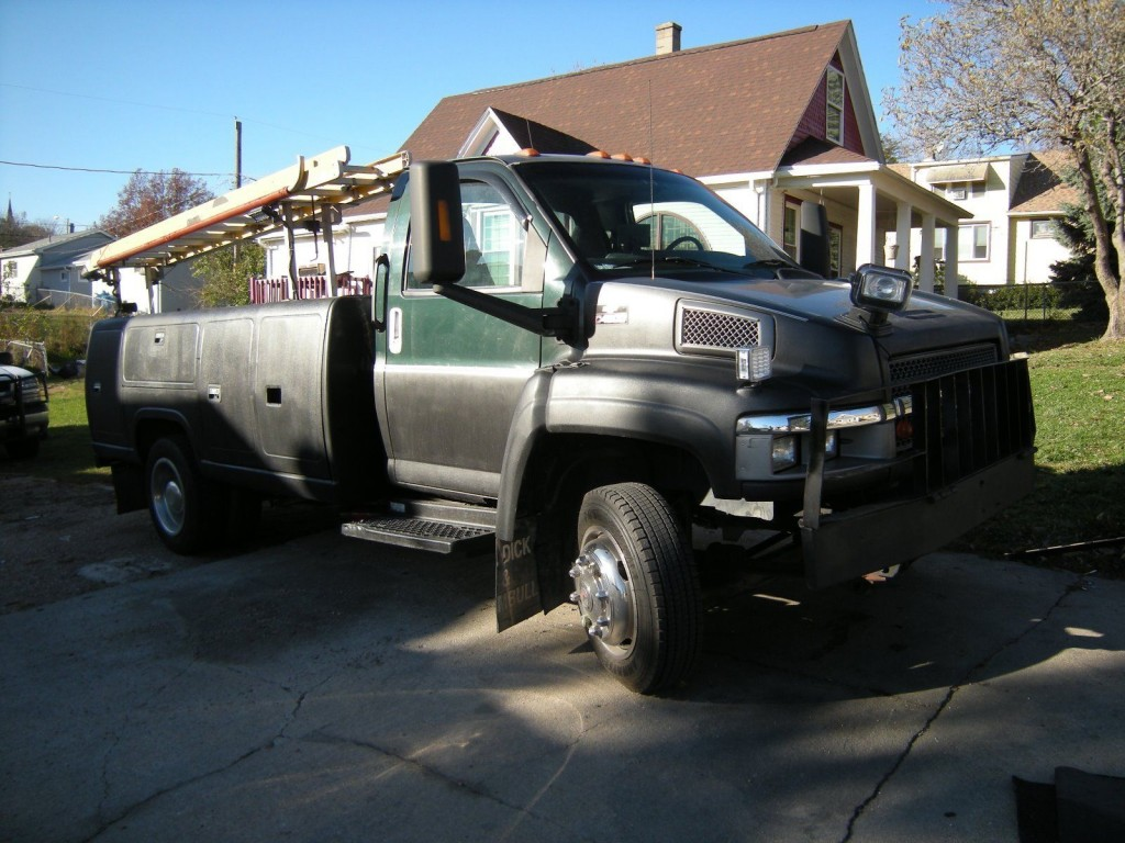 2004 chevy kodiac kodiak 4500 service truck for sale. Black Bedroom Furniture Sets. Home Design Ideas
