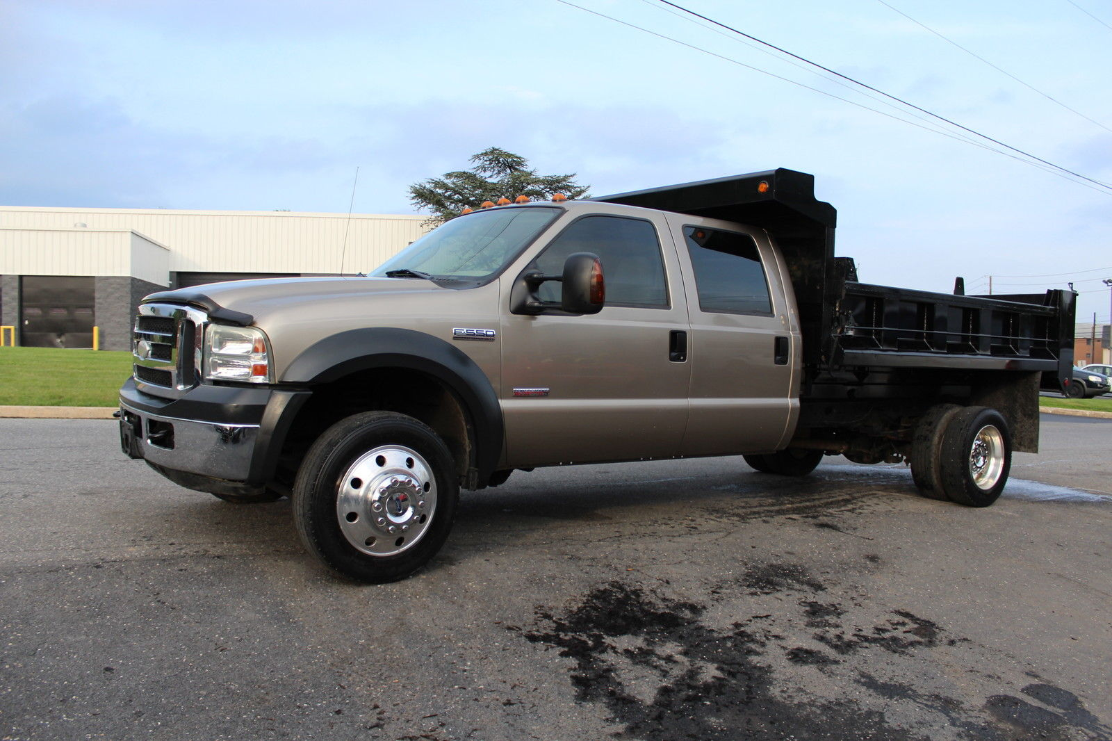 F350 Flatbed For Sale >> 2006 Ford f 550 Crewcab with Brand new dump body for sale