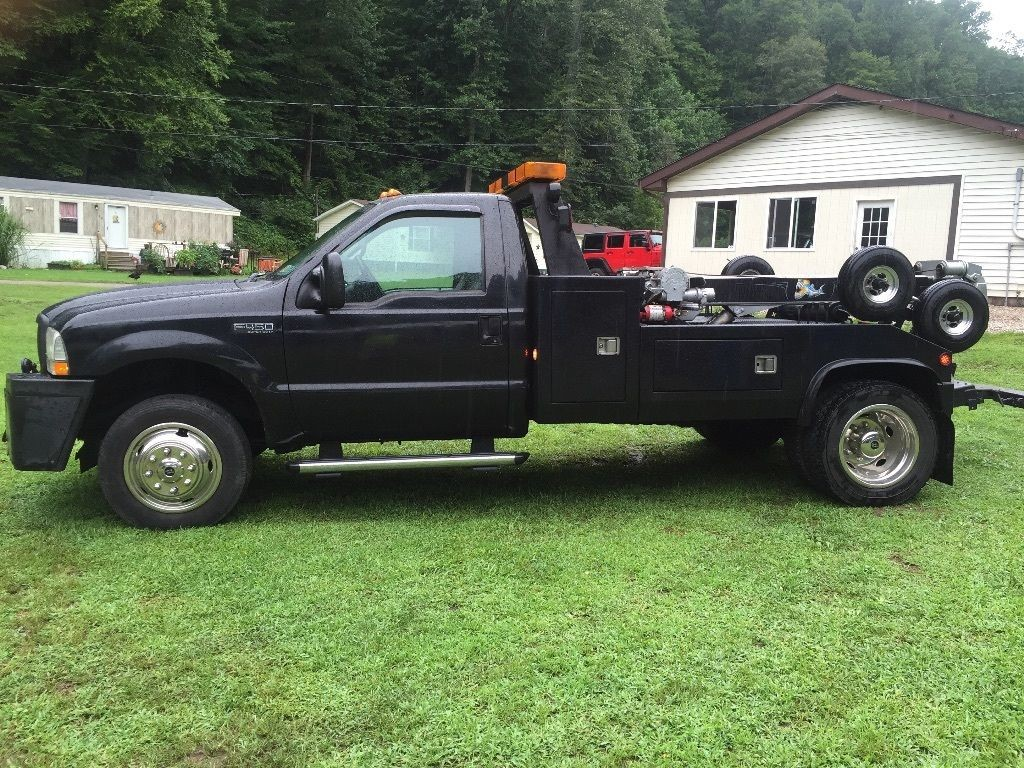 Ford F Xlt Wrecker Tow Truck For Sale X on 1990 Ford F450