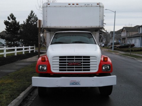 2000 GMC 26 foot Box Truck for sale