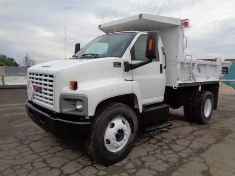 2003 GMC 7500 Dump Truck for sale