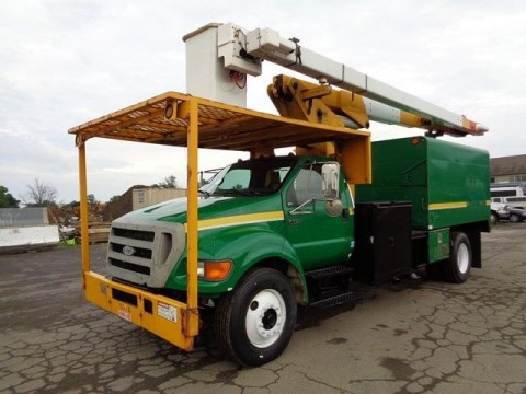 2007 Ford F-750 Bucket Truck for sale