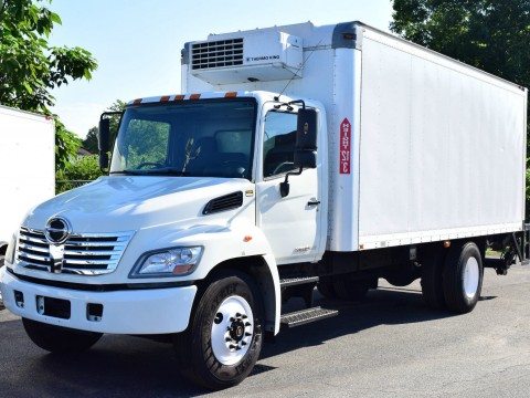 2010 Hino 268 Box Truck for sale