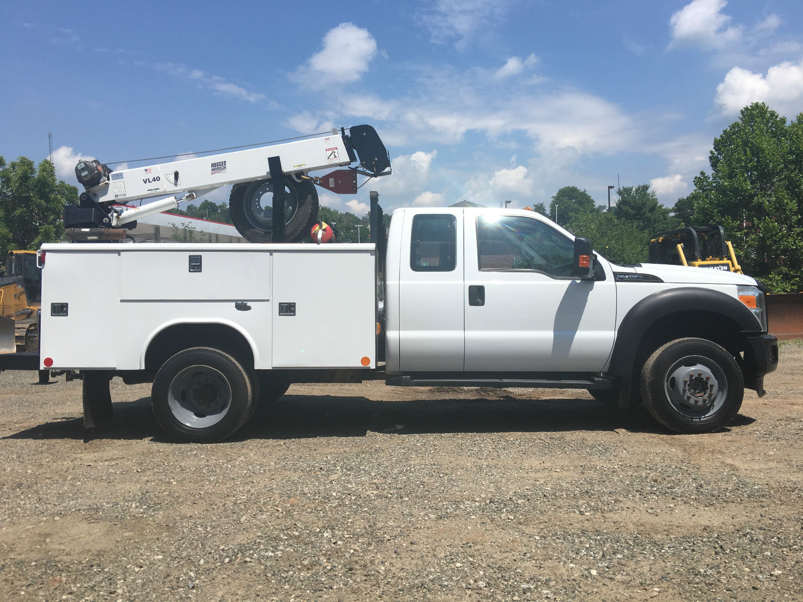 2011 ford f 450 service utility truck extended cab for sale