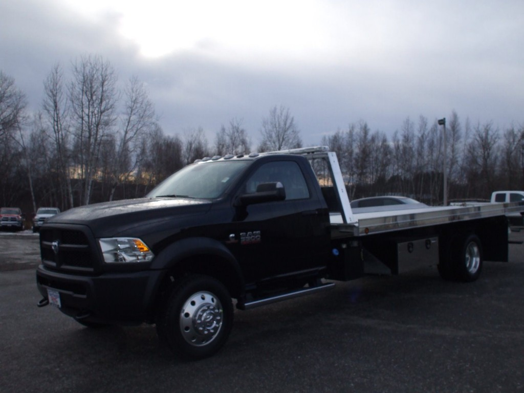 Ram 5500 Truck >> 2016 Dodge 5500 Flatbed Tow Truck for sale
