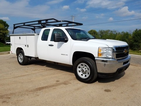 2012 Chevrolet 2500hd 4X4 truck for sale