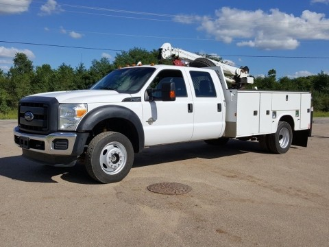 2013 Ford F550 4X4 truck for sale