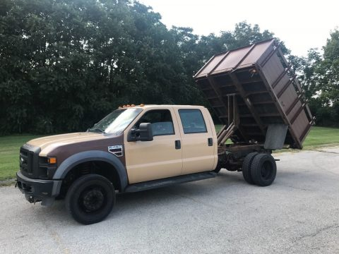 solid 2008 Ford Super Duty F 450 XL dump truck for sale