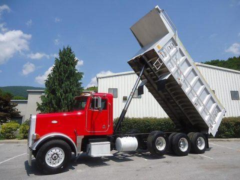 very clean 2000 Peterbilt 357 dump truck for sale