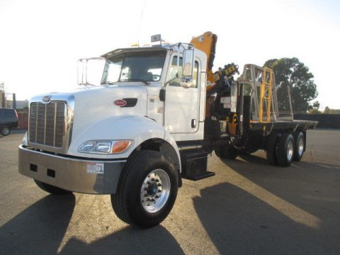 crane 2011 Peterbilt 348 truck for sale