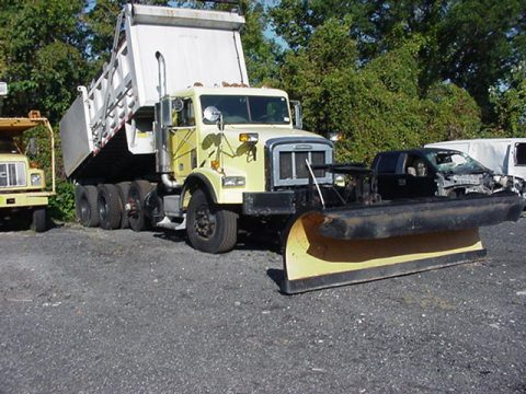 plow equipped 1998 Freightliner DUMP truck for sale
