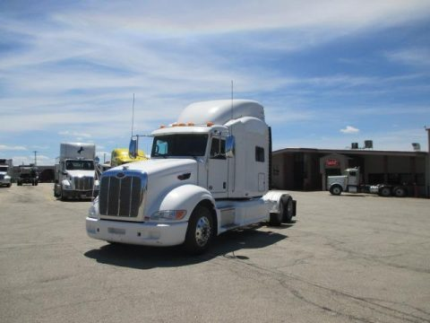 serviced 2011 Peterbilt 386 truck for sale