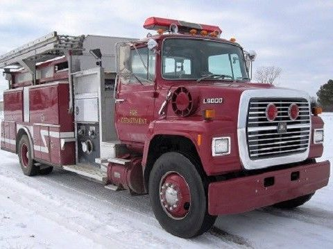 pumper / tanker 1989 American Eagle truck for sale