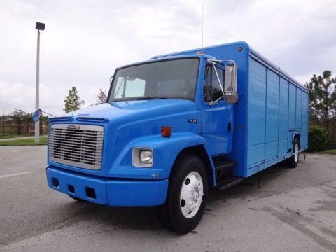 ready for work 2003 Freightliner FL70 Beverage Delivery Truck for sale