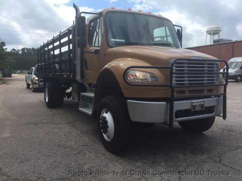 low miles 2009 Freightliner AWD truck for sale