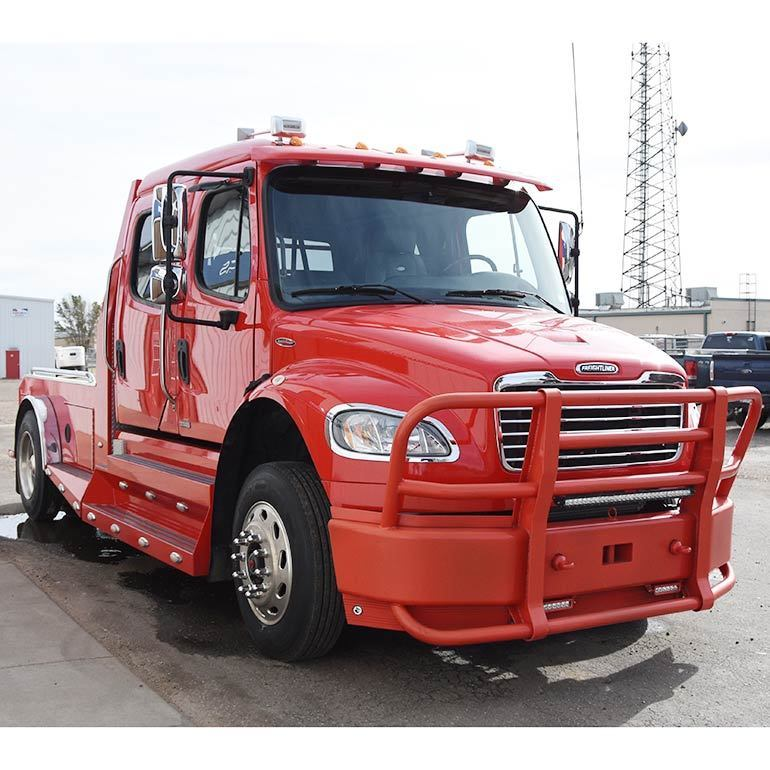converted 2012 Freightliner M2 Sportchassis