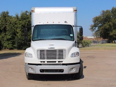 decent mileage 2012 Freightliner m2 30 foot box with 4400lb lift gate for sale