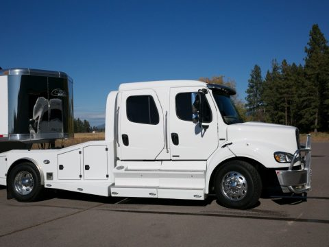 loaded hauler 2012 Freightliner M2 112 truck for sale
