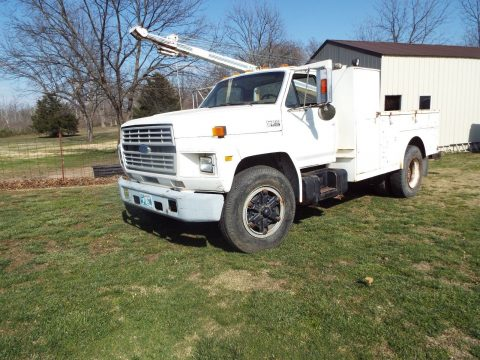 Auto Crane 1987 Ford f700 truck for sale