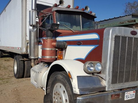 Excellent running classic 1984 Peterbilt Semi Truck for sale