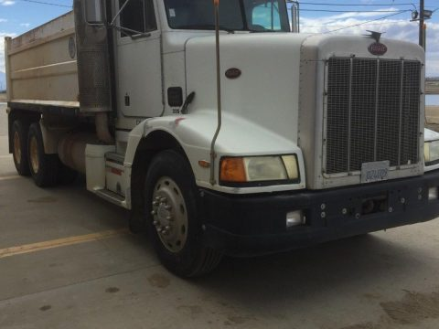 strong 1987 Peterbilt 377 dump truck for sale
