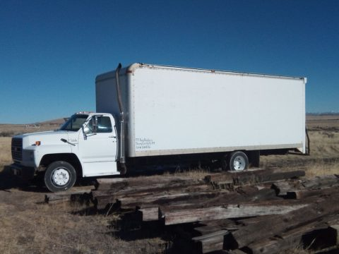 great shape 1989 Ford F700 truck for sale