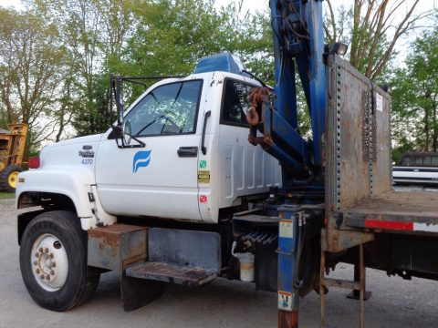 new parts 1994 GMC Top Kick Boom Truck for sale