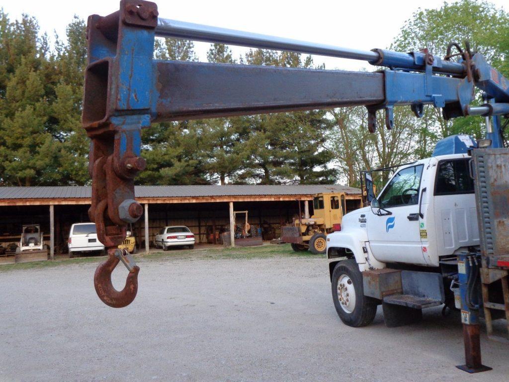 new parts 1994 GMC Top Kick Boom Truck