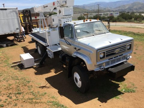 newly painted crane 1988 Chevrolet C 7 Pitman CRANE truck for sale