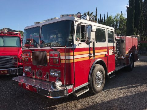 rebuilt engine 1990 Seagrave Fire Engine truck for sale