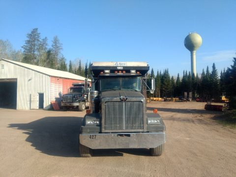 reinforced box 1994 Western Star tri axle truck for sale