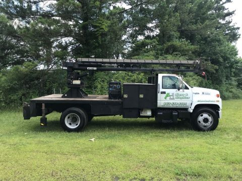 excellent shape 1995 GMC Top Kick Bucket Truck for sale