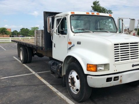 great hauler 1997 International 24ft Flatbed truck for sale