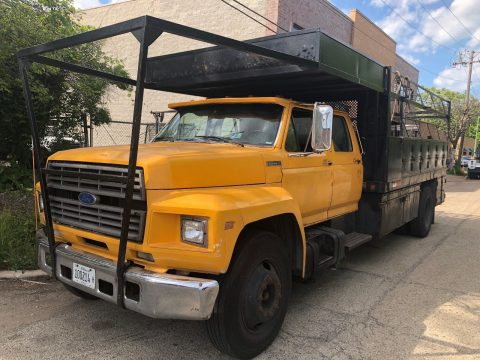 low mileage 1995 Ford F800 truck for sale