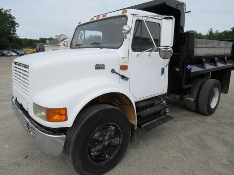 low mileage 1996 International 4900 truck for sale