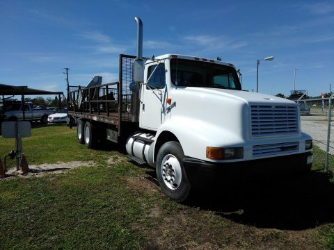 ready to work 1997 International 8300 Tandem Knuckleboom truck for sale