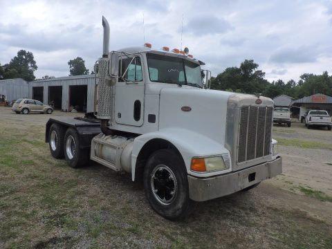 solid 1995 Peterbilt 375 Tandem Axle truck for sale