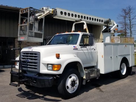 Awesome 1998 FORD F700 Cable Placer truck for sale