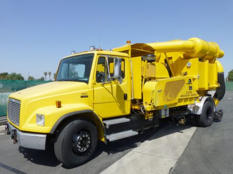 beautiful 1998 Freightliner FL80 Vactor Recovery Vacuum Truck for sale