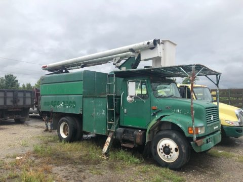 low miles 1998 International 4700 trucks for sale