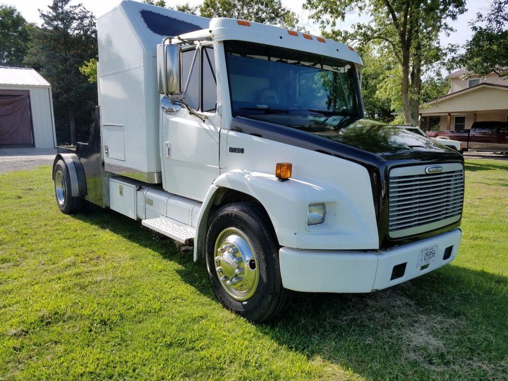 overhauled 1998 Freightliner FL60 truck