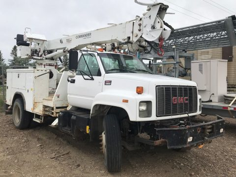 solid 1998 GMC 8500 truck for sale