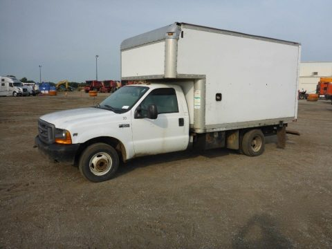 good running 1999 Ford F350 van truck for sale