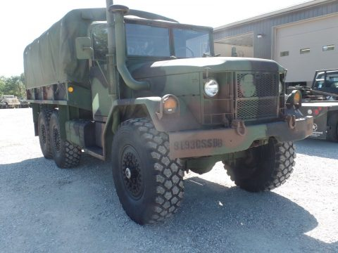 original 1970 Kaiser M35a2 Military Cargo Truck for sale