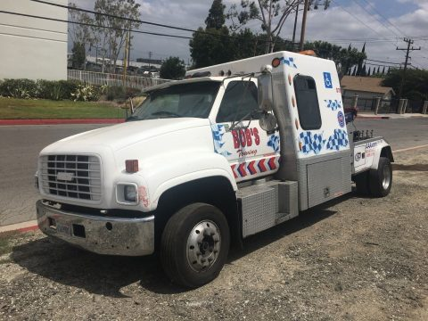 rebuilt transmission 2000 GMC C7500 tow truck for sale